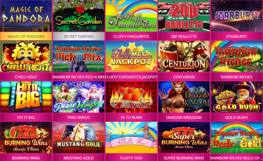 slots games you can play